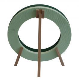 Ring Polystyrol-Basis mit Holzständer
